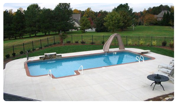 Backyard Pools - pool and slide about us
